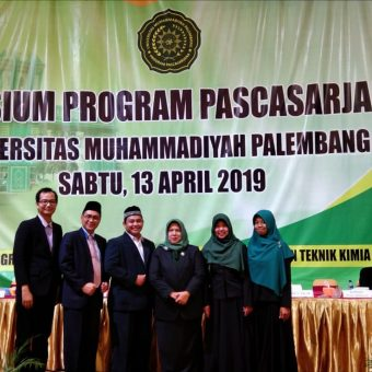Yudisium Program Pascasarjana Universitas Muhammadiyah Palembang Periode April 2019